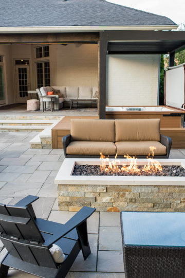 Outdoor Living Terrace Renovation