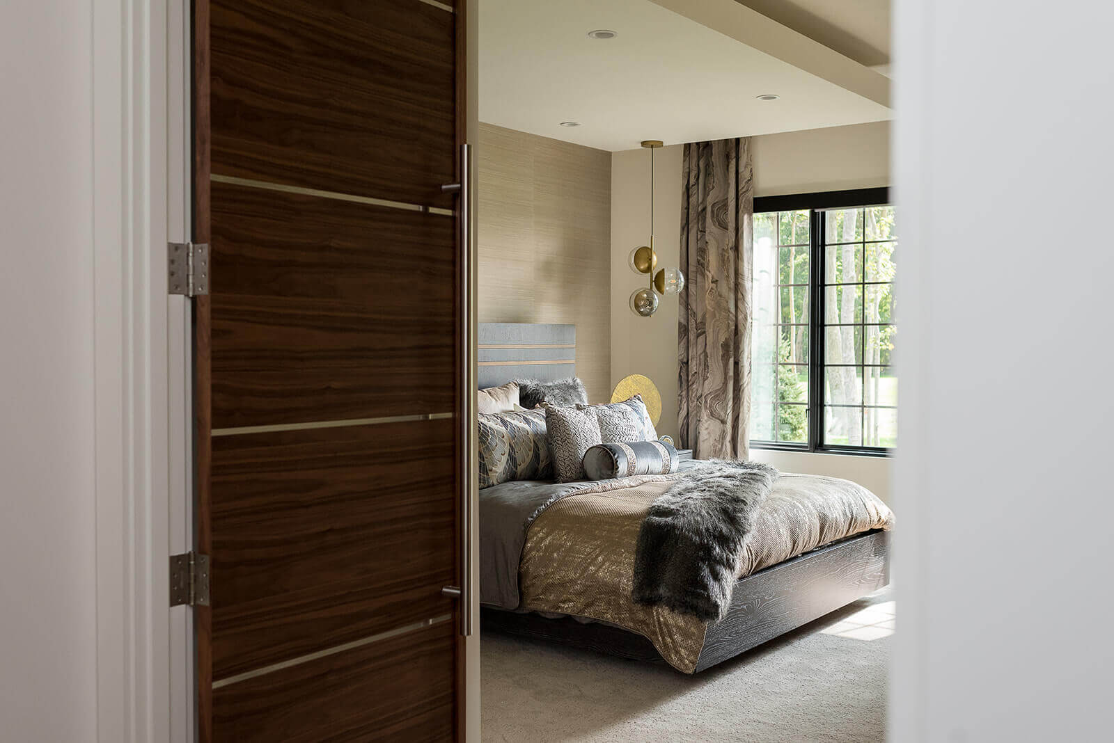 A Home-A-Rama worthy master bedroom