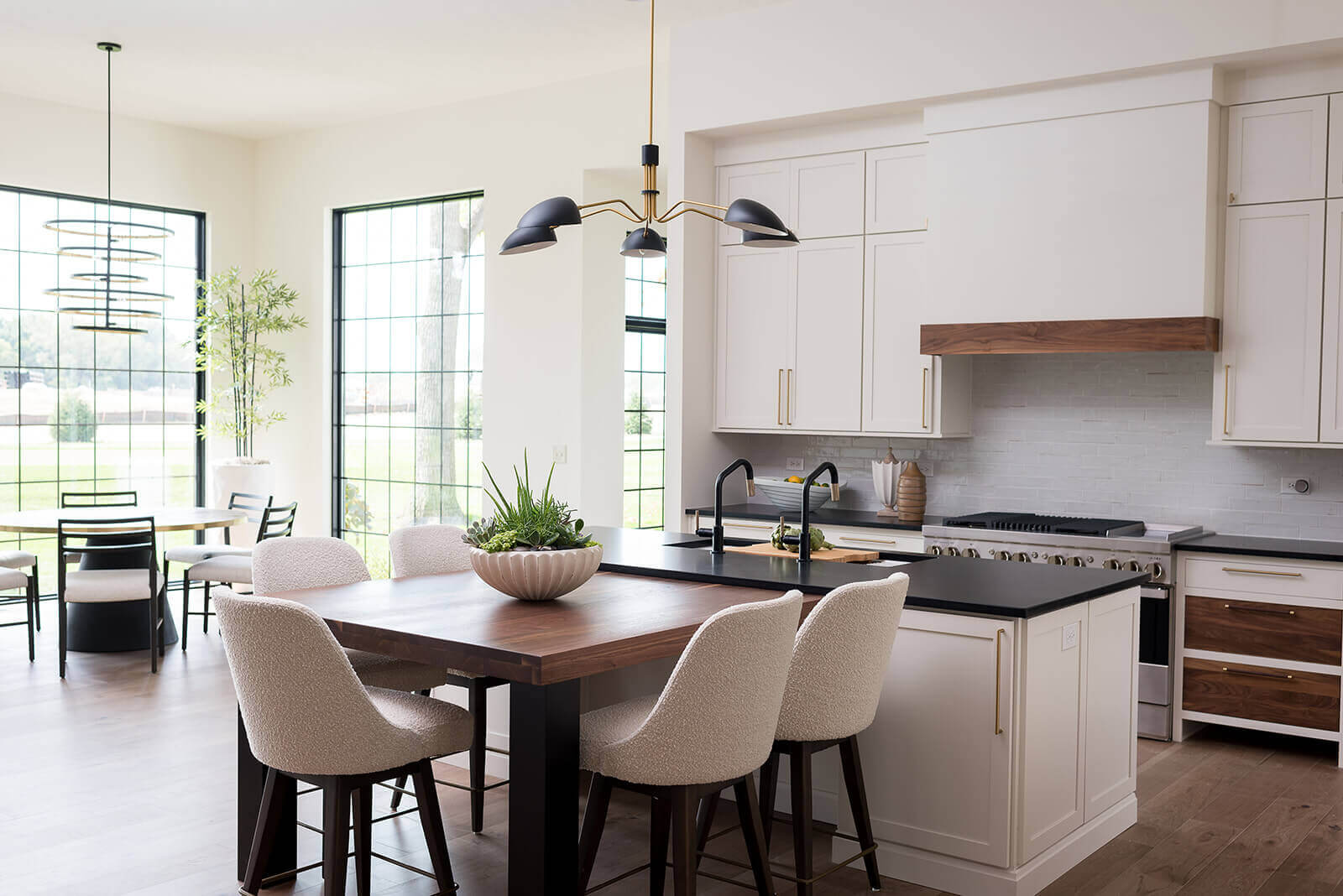 Beautiful spaces for dining